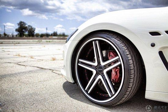 玛莎拉蒂MC轮毂改装图赏 气质更加高贵