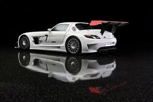 重塑金身 改装版奔驰SLS AMG GT3赛车