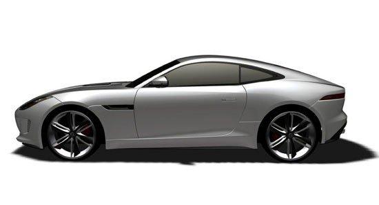 捷豹f type硬顶轿跑 售价104.8 154.8万元高清图片