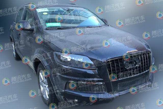 上海大众全新七座SUV谍照 CrossBlue量产版
