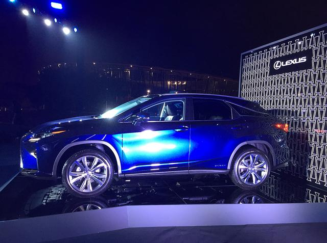 雷克萨斯新一代RX上市 售41.8万-86.9万元