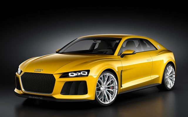 [海外车讯]奥迪Sport Quattro概念车将量产