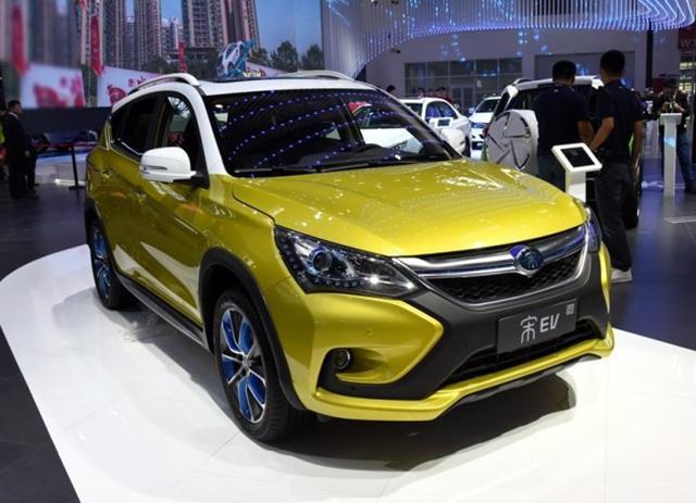 比亚迪4月上海车展推宋EV/M5/唐和秦燃油版