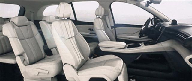 蔚来ES8部门设置曝光 配同级最强副驾座椅