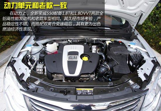 推荐1.8T品臻版 全新荣威550购车手册