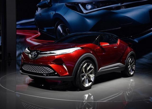 一汽丰田首款小型SUV 将广州车展正式亮相