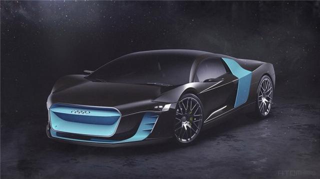基于R8设计 奥迪ATOM概念跑车假想图