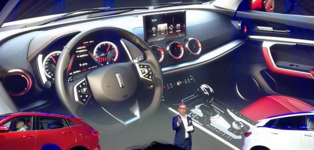 WEY W02概念车发布 长城汽车向高端进军