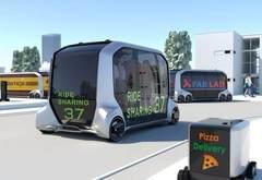 丰田汽车和SoftBank将在东京推出试乘出租车共享服务