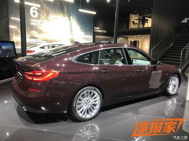 5系GT继任者现身 宝马6系GT将于11月上市
