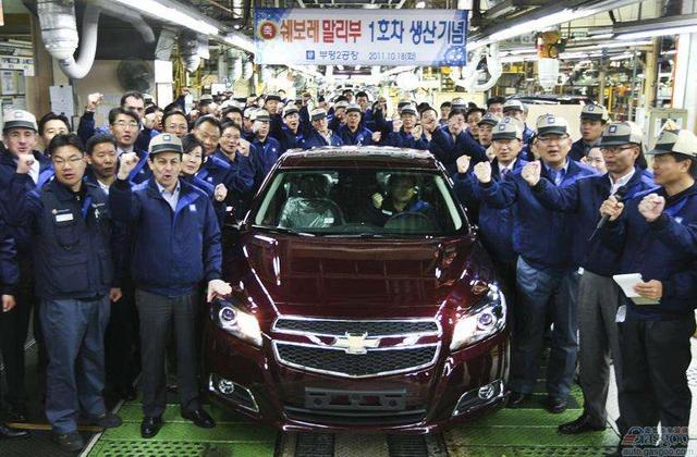 韩国政府将提供相关补贴 减轻通用汽车关厂的影响