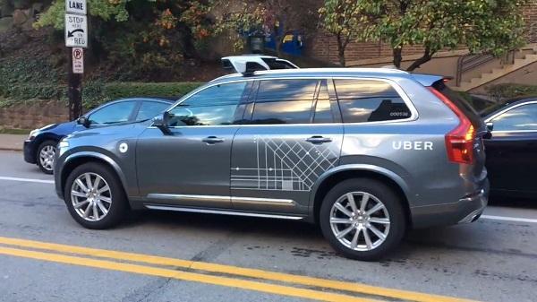 真壕!沃尔沃XC90变身Uber自动驾驶测试车亮相