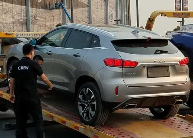 2017上海车展探营:全新WEY VV7车型进馆