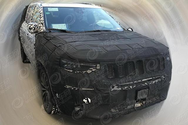 搭2.0T发动机 曝国产Jeep大指挥官动力信息