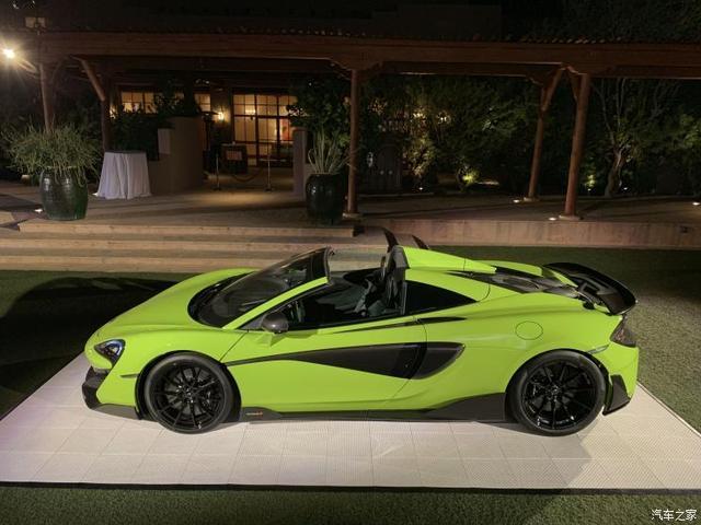 2月20日上市 邁凱倫600LT Spider首發