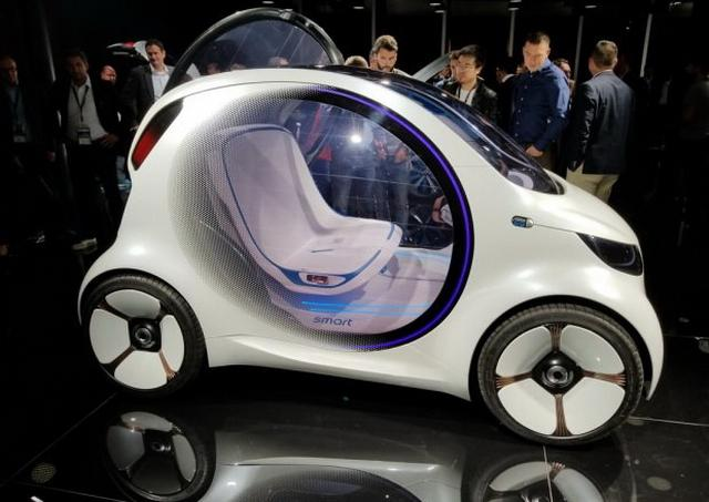 smart新观点车表态 行驶里程约300公里