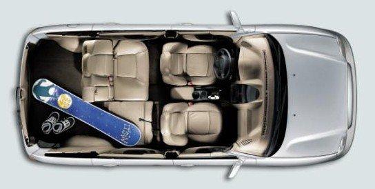 达菲1.8T 俯视图-华泰圣达菲1.8T大获青睐 售价9.98万元起