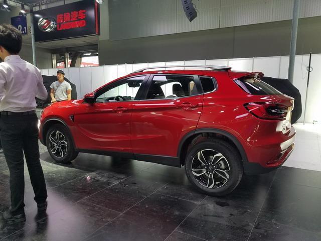 陆风逍遥展台亮相  定位紧凑型SUV