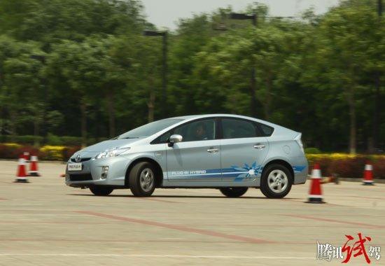 蓝色先驱 腾讯体验丰田全新一代普锐斯