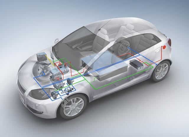 纯电动汽车和纯汽油,柴油汽车都是少数,多数是各种形式混合动力汽车.