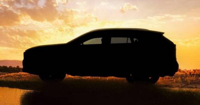 丰田发布全新RAV4预告图 2018纽约车展首发
