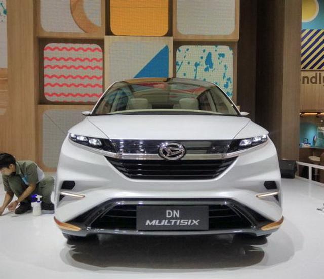 瞄准东南亚MPV市场 DN Multisix观点车公布