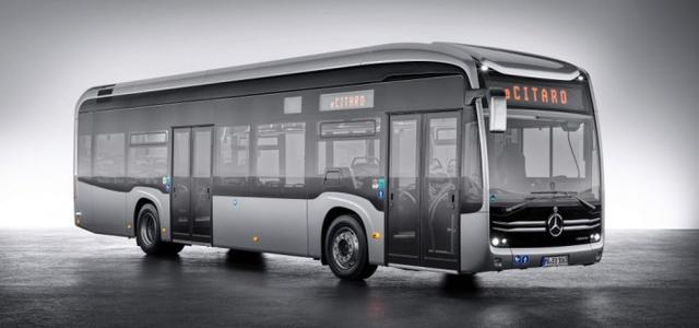 戴姆勒Citaro公交车电动版本侧身