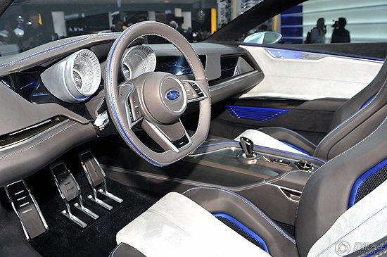 [新车解析]斯巴鲁VIZIV混合动力概念车发布