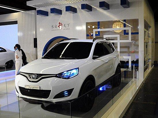 长安3款新车北京车展首发 中型车CD101领衔