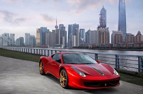 为特别纪念法拉利品牌正式进入中国大陆市场20周年,法拉利将在本月底开幕的2012北京国际车展上发布一款458 Italia中国纪念版车型