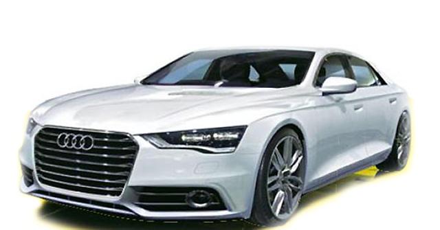 全新一代奥迪A8年底推出 直面全新奔驰S