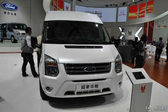 全新福特新世代全顺上海车展正式上市