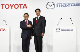 从丰田马自达建立合作看车企抱团取暖