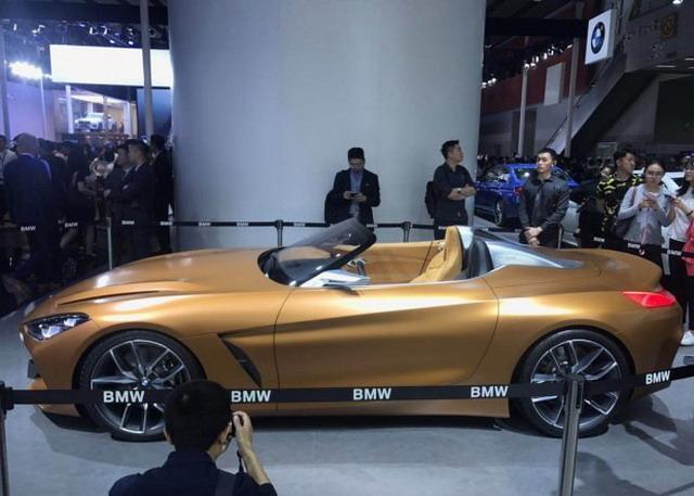 宝马新一代Z4观点车首发 倾覆性设计