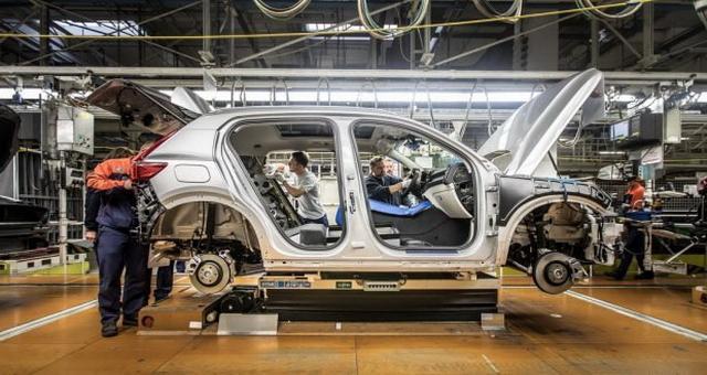 沃尔沃XC40海外下线 2018年初交付