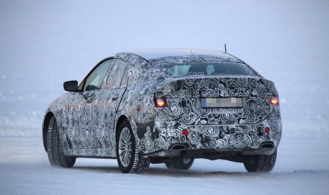 宝马新一代5系GT冬季测试谍照 2017年登场