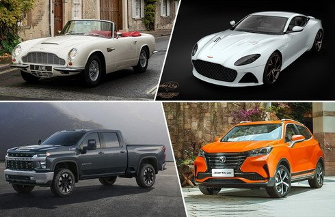 从超豪电动车到霸气皮卡 近期6款新车官图赏析