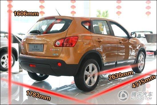 近日,东风日产2012款逍客车型正式上市销售,其售价区间为13