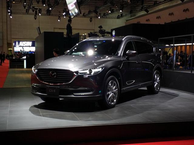 定位7座SUV 马自达全新CX-8东京车展发布