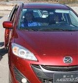 红色的新Mazda5 喜庆的味道