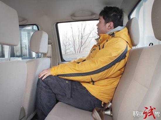 腾讯试驾郑州日产锐骐柴油皮卡 简单可靠 高清图片