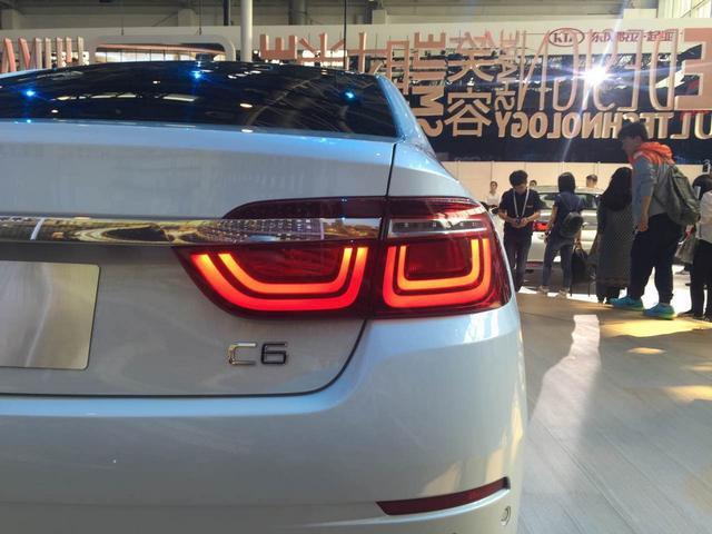 东风雪铁龙C6北京车展中国首发 竞争新君越