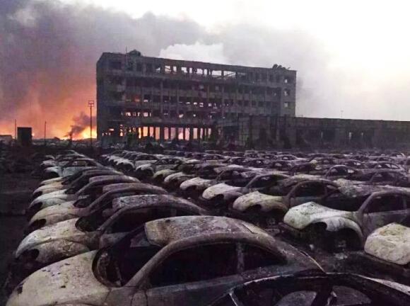塘沽爆炸影响天津港汽车进出口业务 损失待估