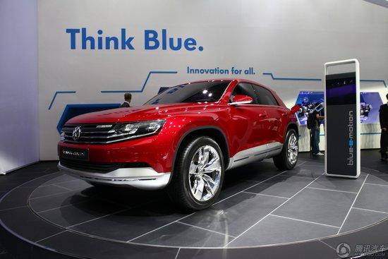 [新车解析]Cross Coupe概念车于车展亮相