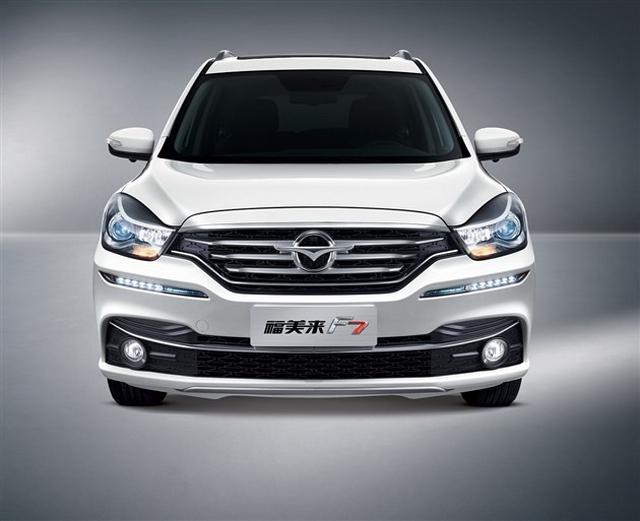 1.5T动力/4款车型 福美来F7将9月27日上市