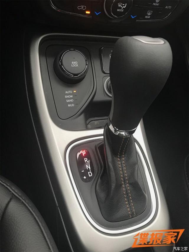 搭载四驱系统 曝Jeep指南者新增车型谍照