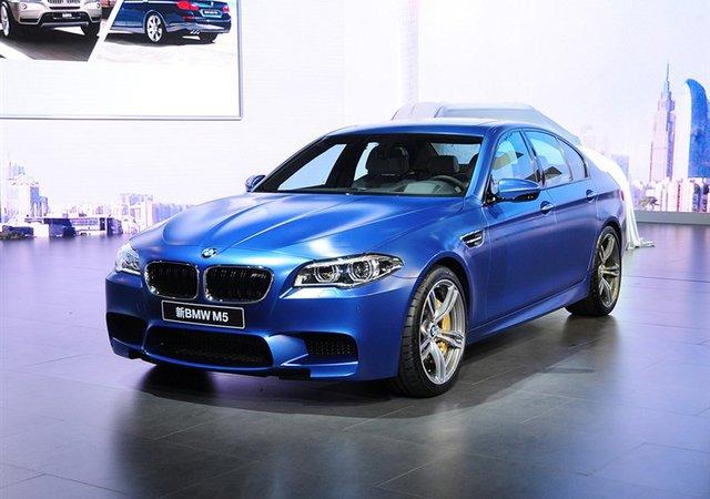 宝马广州车展国内首发新款M5 售178.8万元