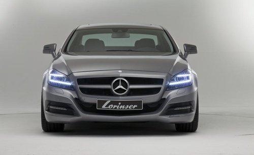 劳伦士推出2012款奔驰CLS改装套件