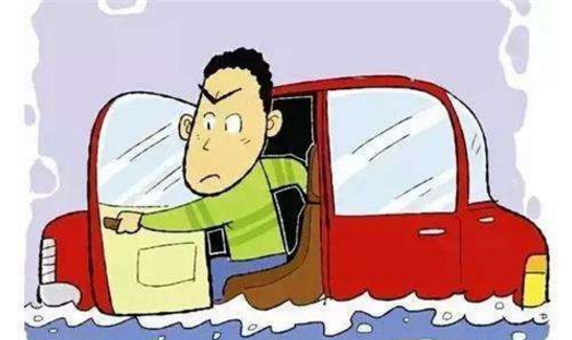 汽车落水后真的无法开门逃生吗?