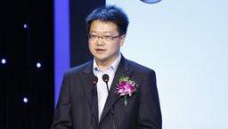 北京金马甲产权网络交易有限公司总裁樊东平现场致辞。